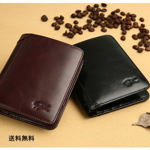 財布 2つ折り メンズ 短財布 折財布 小型 薄い 軽量 無地 PU ビジネス シンプル スムース ギフト プレゼント 父の日 サイフ さいふ 新作 送料無料 tman