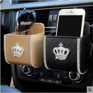 ナポレックス レディース用 お取り寄せ商品 ダイヤ付き カー用品 スマホホルダー iPhoneホルダー PU かわいい|tman