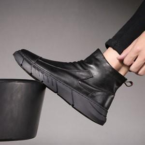 ワークブーツ メンズ マーティンブーツ ブーツ ボア付き 裏起毛 厚底 防寒 暖かい あったか 滑り止め アウトドア 痛くない 疲れにくい 冬物 新作 送料無料 tman