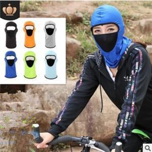 フェイスカバー 目だし帽 UVカットマスク 日焼けマスク メンズ レディース 冷感 日焼け対策 アウトドア 紫外線防止 ネックカバー 通気性 送料無料|tman