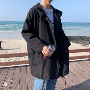 トレンチコート メンズ スプリングコート 長袖 ロング丈 無地 コート アウター ロングコート フード付き ゆったり 大きいサイズ 通学 おしゃれ 秋物 新作 tman