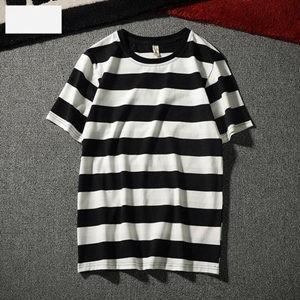 Tシャツ tシャツ メンズ レディース カップル 半袖tシャツ 半袖 丸首 ボーダー柄 夏tシャツ ゆったり カジュアル おしゃれ 着痩せ 夏物 新作 送料無料|tman