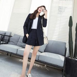 スーツ 2点セット レディース テーラードジャケット+ショートパンツ セットアップ 事務服 通勤 面接 無地 フォーマル オフィス 仕事 就活 春物 送料無料|tman