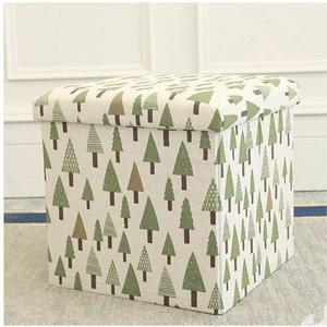 スツール 椅子 いす イス 収納 小物収納 座れる 足置き台 クッション 正方形 ベンチ 収納ボックス 便利 tman 03