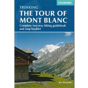 ヨーロッパアルプス超人気トレイルガイド ツール・ド・モンブラン・ガイド Tour of Mont Blanc Trekking Guide