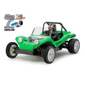 本格的RCカー!1/10RC XB RCバギー・くまもんバージョン (DT-02シャーシ) グリーン 完成品!組立不要!すぐに遊べます。 tmgarage2019