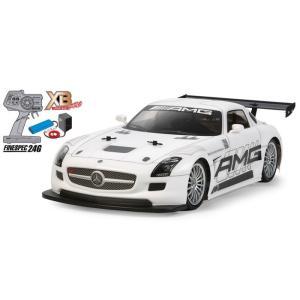 本格的RCカー!TAMIYAタミヤRCカー1/10RC XB メルセデス・ベンツ SLS AMG GT3 (TT-02シャーシ)完成品!組立不要!すぐに遊べます。|tmgarage2019