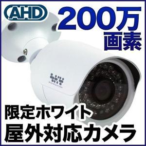 防犯カメラ 監視カメラ 200万画素 暗視・防水・屋外 SONYセンサー バレット SX-200w|tmts