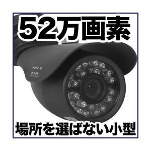 防犯カメラ 監視カメラ/屋外用 防水 52万画素 暗視 SX-VBM41Rg バレット|tmts