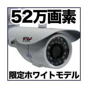 防犯カメラ 監視カメラ/52万画素 暗視・防水・屋外 SX-VBM41Rw バレット|tmts
