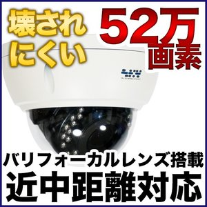 耐衝撃ドーム型防犯カメラ 近中距離対応|tmts