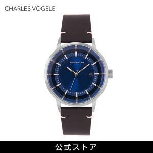 腕時計 Charles Vogele シャルルホーゲル メンズ 公式 V0718.S04 M-1 series (154801) 男性 プレゼント|tn-square