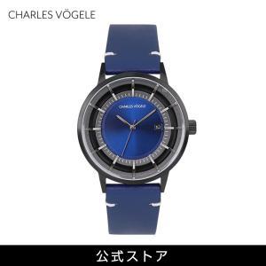Charles Vogele シャルルホーゲル メンズ 公式 V0718.B34 M-1 series (154803) 男性 プレゼント 腕時計 おしゃれ|tn-square