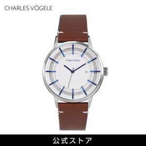 腕時計 Charles Vogele シャルルホーゲル メンズ 公式 V0718.S02 M-1 series (154804) 男性 父の日 2021 プレゼント tn-square