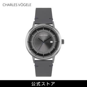 腕時計 Charles Vogele シャルルホーゲル メンズ 公式 V0718.G37 M-1 series (154805) 男性 プレゼント おしゃれ|tn-square