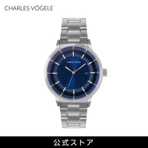 腕時計 Charles Vogele シャルルホーゲル メンズ 公式 V0719.S04 M-2 series (154808) 男性 プレゼント|tn-square