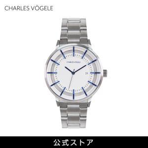 腕時計 Charles Vogele シャルルホーゲル メンズ 公式 V0719.S02 M-2 series (154809) 男性 プレゼント|tn-square