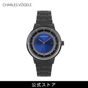 Charles Vogele シャルルホーゲル メンズ 公式 V0719.B34 M-2 series (154810) 男性 プレゼント 腕時計 おしゃれ|tn-square
