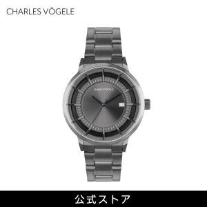 腕時計 Charles Vogele シャルルホーゲル メンズ 公式 V0719.G37 M-2 series (154811) 男性 プレゼント|tn-square