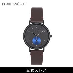 腕時計 Charles Vogele シャルルホーゲル メンズ 公式 V0720.B43 M-3 series (154815) 男性 プレゼント|tn-square