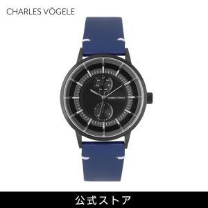 腕時計 Charles Vogele シャルルホーゲル メンズ 公式 V0721.B03 M-4 series (154818) 男性 プレゼント|tn-square