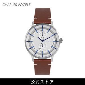 腕時計 Charles Vogele シャルルホーゲル メンズ 公式 V0721.S02 M-4 series (154820) 男性 プレゼント|tn-square