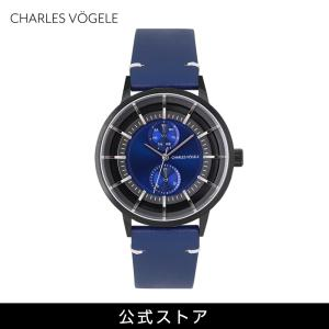 腕時計 Charles Vogele シャルルホーゲル メンズ 公式 V0721.B34 M-4 series (154822) 男性 プレゼント|tn-square