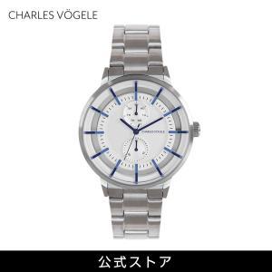 腕時計 Charles Vogele シャルルホーゲル メンズ 公式 V0722.S02 M-5 series (154826) 男性 プレゼント|tn-square