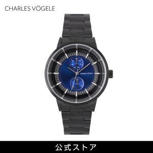 腕時計 Charles Vogele シャルルホーゲル メンズ 公式 V0722.B34 M-5 series (154828) 男性 プレゼント|tn-square