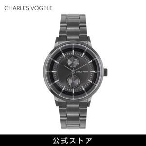 腕時計 Charles Vogele シャルルホーゲル メンズ 公式 V0722.G37 M-5 series (154829) 男性 プレゼント|tn-square