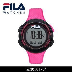FILA フィラ FILACTIVE フィラスタイル ユニセックス 腕時計 スポーツ 38-163-004 (156829) ピンク リンクコーデ プレゼント hawks202110|tn-square