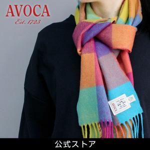 おしゃれ ブランド マフラー メリノウール } AVOCA アヴォカ Merinowool Scarves CIRCUS (160212) サーカス hawks202110|tn-square