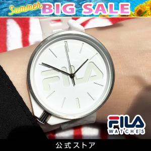 FILA フィラ FILASTYLE フィラスタイル ユニセックス 腕時計 スポーツ 38-199-008 (168016) オシャレ 白 メンズ レディース プレゼント 日本限定 hawks202110|tn-square