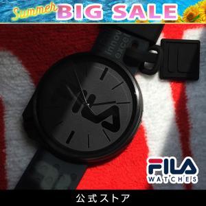 FILA フィラ FILASTYLE フィラスタイル ユニセックス 腕時計 スポーツ 38-199-009 (168017) オシャレ 黒 メンズ レディース プレゼント 日本限定 hawks202110|tn-square