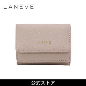 2021 プレゼント 女性 おしゃれ 通勤 通学 結婚式 お呼ばれ } LANEVE ランイブ レディース ミニ財布 L56803 BE ベージュ (169017) tn-square