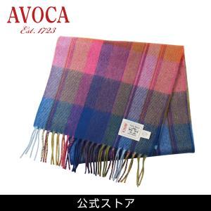 おしゃれ ブランド マフラー メリノウール } AVOCA アヴォカ Merinowool Scarves Solstice(177135) グラデ hawks202110|tn-square
