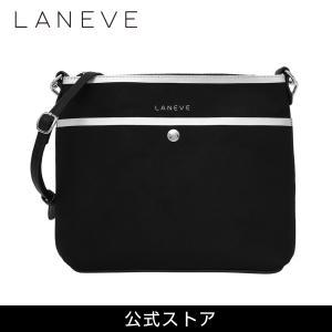 LANEVE ランイブ レディース ショルダーバッグ 11735 BK/SV (179321)|tn-square