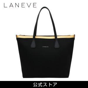 LANEVE ランイブ レディース トートバッグ 11810 BK/PG (179344)|tn-square