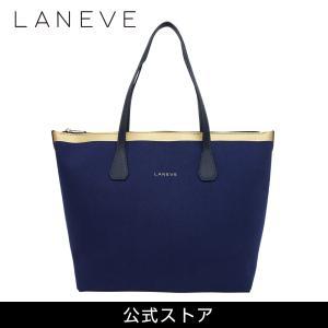 LANEVE ランイブ レディース トートバッグ 11810 NV/PG (179346)|tn-square
