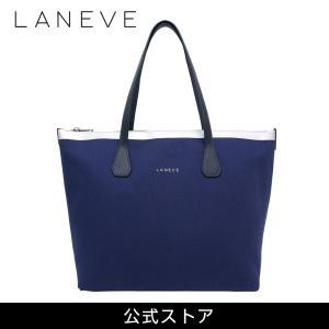LANEVE ランイブ レディース トートバッグ 11810 NV/SV (179347)|tn-square