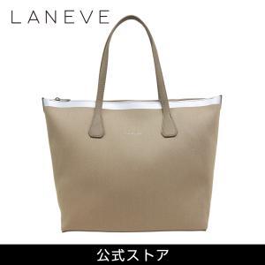 LANEVE ランイブ レディース トートバッグ 11810 BE/SV (179349)|tn-square
