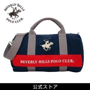 ミニ ボストンバッグ メンズ レディース カジュアル ビバリーヒルズ ポロ クラブ BEVERLYHILLS POLOCLUB BHC001 ネイビー/グレー/ホワイト (181269) hawks202110|tn-square