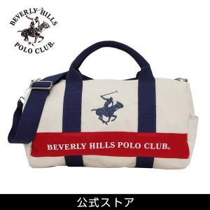 ミニ ボストン メンズ レディース カジュアル ビバリーヒルズ ポロ クラブ BEVERLY HILLS POLO CLUB BHC001 アイボリー/ネイビー/ネイビー (181271) hawks202110|tn-square