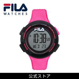 FILA フィラ FILACTIVE フィラスタイル ユニセックス 腕時計 スポーツ 38-163-004 (156829) ピンク {敬老の日 プレゼント}|tn-square