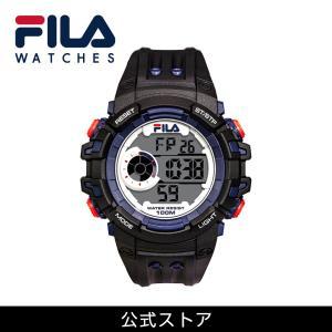 FILA フィラ ユニセックス 腕時計 スポーツ 38-188-003 (160400) ブラック アウトドア ウォッチ {敬老の日 プレゼント}|tn-square