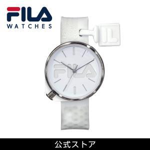 FILA フィラ FILASTYLE フィラスタイル ユニセックス 腕時計 スポーツ 38-199-008 (168016) オシャレ 白 メンズ レディース|tn-square