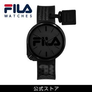 FILA フィラ FILASTYLE フィラスタイル ユニセックス 腕時計 スポーツ 38-199-009 (168017) オシャレ 黒 メンズ レディース {敬老の日 プレゼント}|tn-square