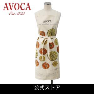 アウトレット エプロン おしゃれ ブランド AVOCA アヴォカ AVOCA MARMALADE APRON ( apron-marmalade ) { 保育士 フルーツ ママレード アイルランド製 綿|tn-square