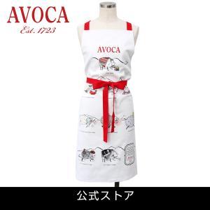 アウトレット エプロン おしゃれ 可愛いブランド AVOCA アヴォカ AVOCA SHEEP APRON THROUGH THE AGES ( apron-sheep ) {  保育士 羊 シープ アイルランド製 綿|tn-square