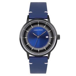 Charles Vogele(シャルルホーゲル) 腕時計 公式 V0718.B34 M-1 series|tn-square